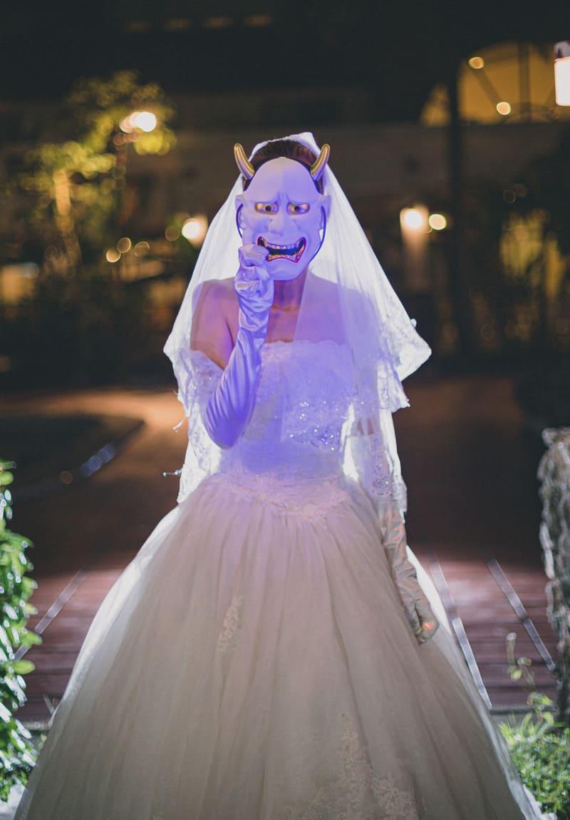 コロナ対応で怒るプレ花嫁